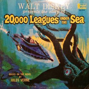 Walt Disney Story Of 20,000 Leagues UnderTheSea LP